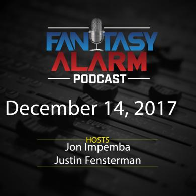 2017 Fantasy Alarm Fantasy NBA Podcast: December 14 Cover Image