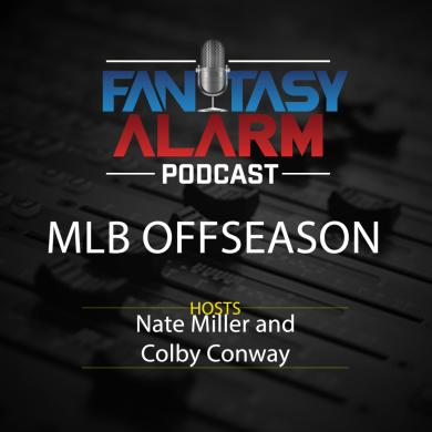 Fantasy Alarm MLB Offseason Podcast: December 15, 2017 Cover Image