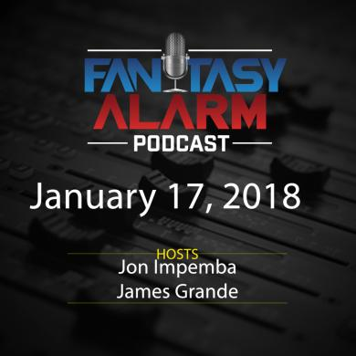 2017 Fantasy Alarm NBA DFS Podcast: January 17 Cover Image