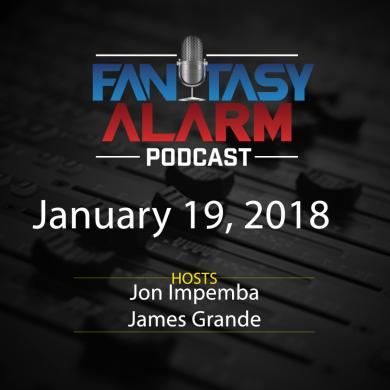 2017 Fantasy Alarm NBA DFS Podcast: January 19 Cover Image