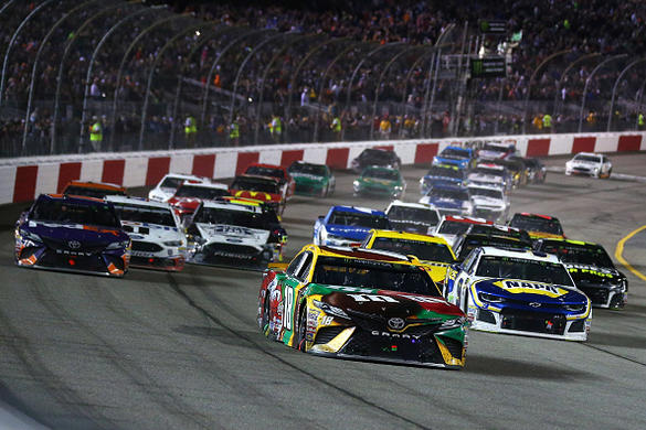 DFS NASCAR: Federated Auto Parts 400 Track Breakdown Cover Image