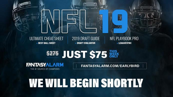 Fantasy Alarm NFL Draft Coverage - Giants Draft Daniel Jones