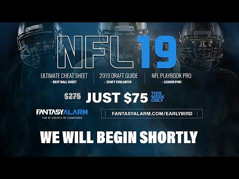 NFL Draft Day 2 Live on Sirius XM Fantasy Sports Radio Powered by @FantasyAlarm