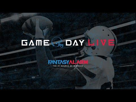Fantasy Alarm Fantasy Football Live - NFL Week 3 Preview