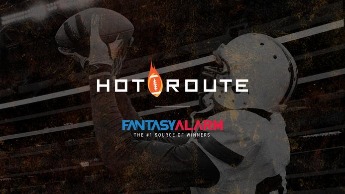 Fantasy Alarm Hot Route: WR Stress