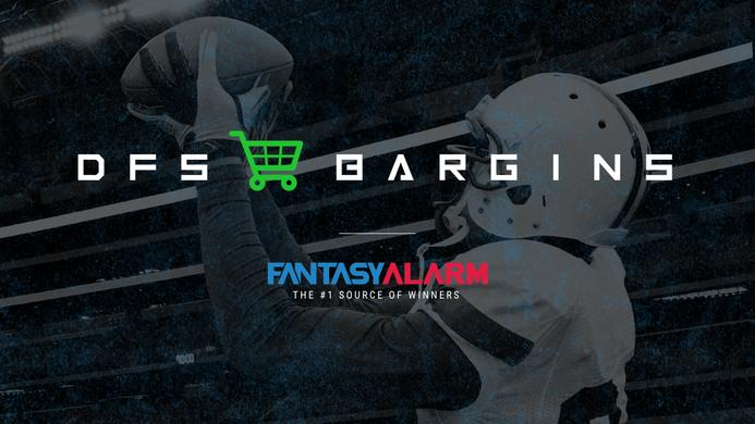 NFL DFS Bargain Plays: Week 10 (Video)