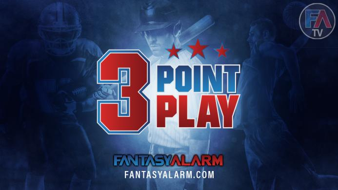 3-Point Play: Fantasy Football, Ice or Hot Coffee & NBA Playoffs