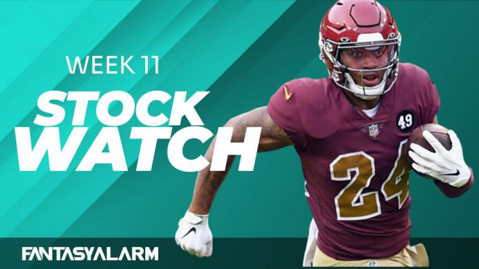 Fantasy Football Stock Watch: Week 11 (Video)