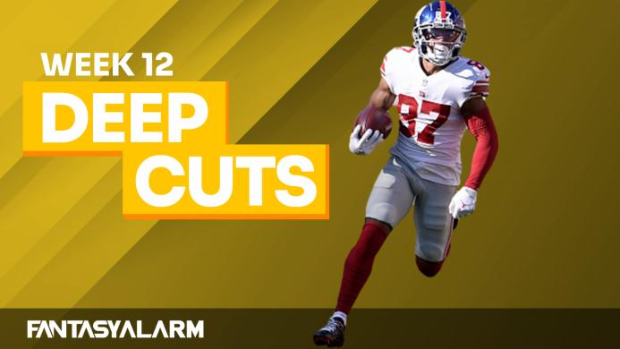 Fantasy Football Deep Cuts: Week 12 (Video)