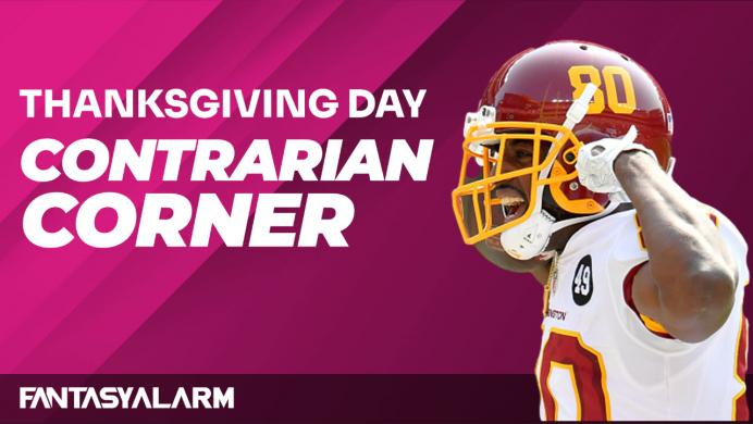 NFL DFS Contrarian Corner: Thanksgiving Day Games (Video)