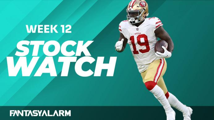 Fantasy Football Stock Watch: Week 12 (Video)