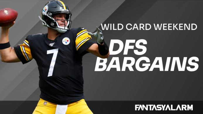 Fantasy Football DFS Bargains: Wild Card Weekend (Video)
