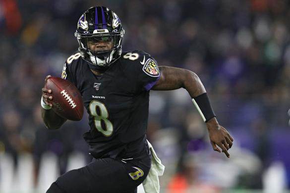NFL Playoffs DFS: Ravens/Bills Showdown Slate Cover Image