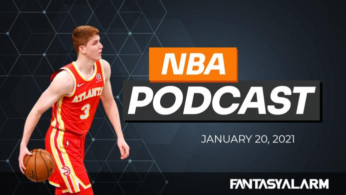 NBA DFS Podcast: January 20