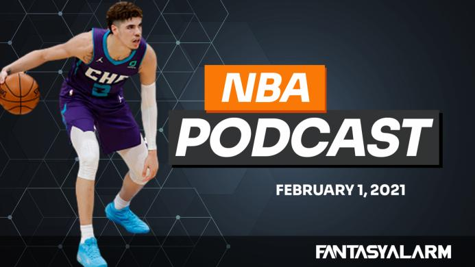 NBA DFS Podcast: February 1