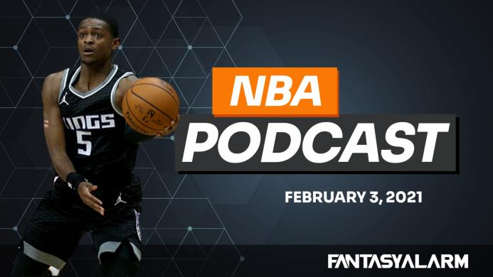 NBA DFS Podcast: February 3