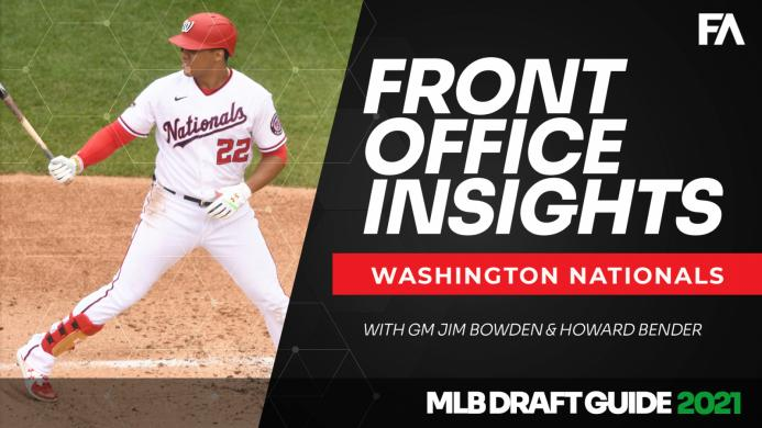 2021 MLB Draft Guide: Front Office Insights: Washington Nationals