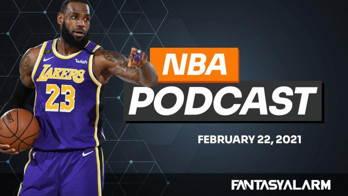 NBA DFS Podcast - February 22